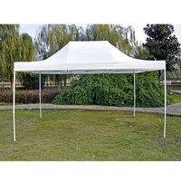 Wholesale New CEO Series Polyster m Folding Tent Multifunction Outdoor Tent White Party Trade Show Tent order lt no track