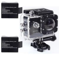 Wholesale 1PCS V Mah Li ion Battery for Sports Camera SJ4000 Winait DV W7 DV S8 Cameras