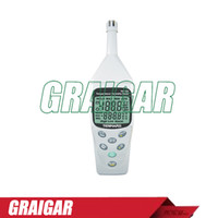 Wholesale TENMARS TM digital hygrothermograph dew point temperature meter TM183 wet bulb temperature tester with large LCD display A