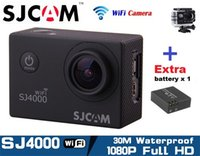 Wholesale Original SJCAM SJ4000 WIFI Action Camera P Full HD Helmet Underwater Waterproof Video Sports Camera Gopro Style Car DVR