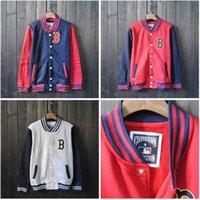 urban clothing - Fall M XL mens big and tall plus size korean fashion varsity jackets men urban clothing citi trends coats hip hop baseball jacket