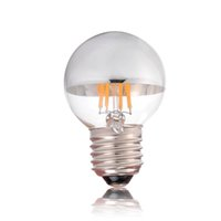 Wholesale 4W Dimmable Sliver Bowl Vintage LED Filament Bulb Warm White G45 Globe Light E26 E27 Medium Base Lamp