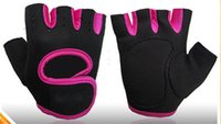 Cheap Gym Body Building Training Fitness Gloves Sports Weight Lifting Exercise Slip-Resistant Gloves For Men And Women