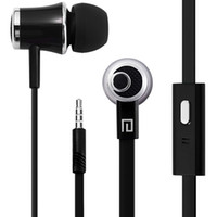 Revisiones Bajo plano-Langston JM21 Super Bass In-Ear Earphone 3.5mm Jack Stereo Headphone 1.2m Flat Cable con micrófono para iPhone 6/6 Plus 5 5S