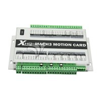 Wholesale 4 Axis CNC USB Card MACH3 KHz Breakout Board Interface Adapter For Wireless CNC Handwheel