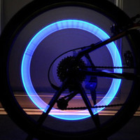bicycle track tyres - 2pcs Bike Bicycle Cycling Tyre Tire Wheel Valve Cap Spoke Flash LED Light Lamp Bulb order lt no tracking