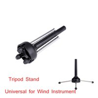 Wholesale Portable Tripod Stand Holder Foldable for Oboe Flute Clarinet Sax Wind Instrument Wholesal Retail