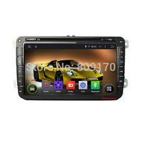 Wholesale Android Car DVD for vw GOLF new polo Bora JETTA MK4 B6 PASSAT Tiguan SKODA OCTAVIA Fabia WiFi Free Map