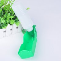 Wholesale Portable Pet Dog Water Bottle ml Large Retractable Folding Drinker excellent Plastic Pet Supply FYCW0028W