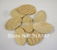 Wholesale 6pcs High quality wooden Natural Craft die cut