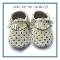 baby shoes design - soft sole shoes new design gold dot baby moccasin