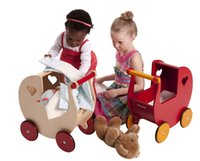 basketball carts - Best gift for baby girl Moover wooden child trolley walker baby toy storage car Baby cart shopping cart