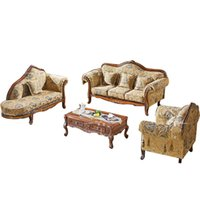 antique furniture fabric - European Neo classical Sofa combination living room Sofa fabric Sofa chaise American Retro
