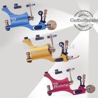 aluminium tool kit - Freeshipping New Pro Aluminium Alloy Rotary Tattoo Machine Guns Liner Shader Tattoo Motor Gun tool kit colors supply