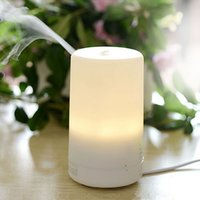 Wholesale 3 in1 LED Night Light USB Essential Oil Ultrasonic Dry electric fragrance Diffuser Aromatherapy Protecting Air Humidifier