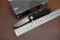 stainless steel hunting knife - 100 Real OEM SOG Twitch II G10 Stainless Steel Folding Knife AUS Blade Camping hunting knives pocket EDC tool