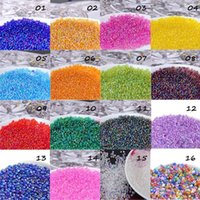 Cheap 2mm 1000 pcs Set 16 AB colors Czech Glass Seed Loose Beads,Crystal Spacer Beads For Jewelry Handmade DIY Material