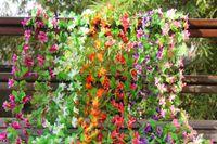 rattan furniture - Simulation flower vine flowers silk flower rattan furniture rose hotel decoration spline and placed flowers sitting room adornment