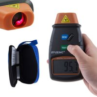 Wholesale Digital Laser Tachometer RPM Meter Non Contact Tach Tool RPM Handheld Digital Photo Laser Tachometer Tester order lt no track