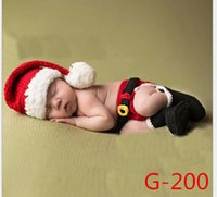 baby boy holiday outfits - Baby Boy Hat Infant Knitted Crochet Costume Photo Photography Prop outfits P145