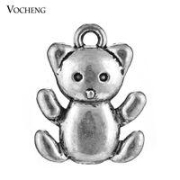 bear making supplies - Cute Little Bear Charms Pendants Making Supplies Jewelry Findings Vn Vocheng Jewelry