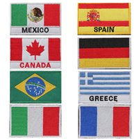 Wholesale Brand New Hot Sale Choice Nation Flag Emblem Iron On Patch Sew Transfer Trim x3 Standard LOT2