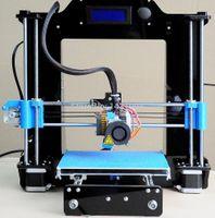 Wholesale Desktop DIY D Printer With LED Screen Upgrade Version i3 d printer Acrylic frame G SD card