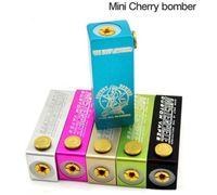 Wholesale 2015 mini cherry bomber mod clone Cherry Bomber Mini box mod E Cig fit RDA Atomizer for Single Battery DHL