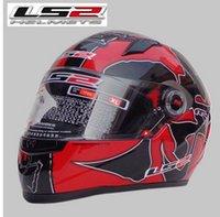 abs deals - Special Offer new authentic helmet LS2 FF358 motorcycle helmet winter helmet sports racing full helmet Rally deals