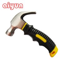 Wholesale Portable Mini Claw Hammer Car Safety Glass Hammer rubber handle fitter s hammer