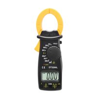 Wholesale DT3266L AC DC Portable Handheld Digital Clamp Meter Multimeter Voltage Current Resistance Tester Multimetro with Test Lead