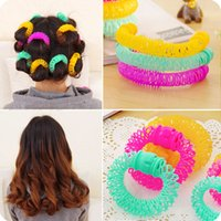 automatic donut - Korea cute donut automatic curlers pear head hair tools do not damage one s hair curl retention is fast