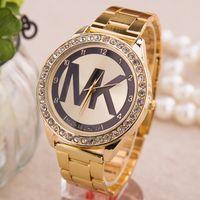 tungsten bracelet - new Fashion Women s Bracelet Stainless Steel Crystal Dial Analog Quartz Wrist Watch colors