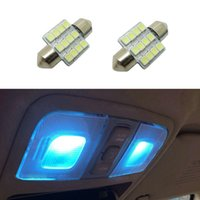 aqua parks - 20pairs Car Bulbs SMD LED Working Light Car Interior Aqua Blue Lights CLT_00P