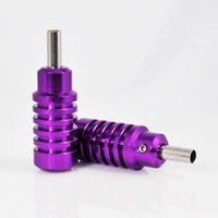 Wholesale 5 Tattoo Grip Tubes for Tattoo Machine Aluminum Variety of Models Colorful F068