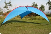 advertising installations - Ultralarge Convenient Installation Six Angular Marquee Beach Advertising Camping Sun Shade Tents Shelter Outdoor Activities