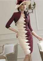velvet flower - robe de soiree new fashion taffeta vestido de festa longo femininos Mother of the Bride Dresses with jacket