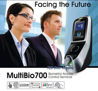 Wholesale Free DHL Shipping Face Capacity Facial and Fingerprint Time Attendance Access Control Dual Cameras Multibio iface7