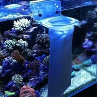 Wholesale New Novelty Fish Aquarium Marine Sump Felt Pre Filter Sock Bag white micron Aquarium accessories bz872318