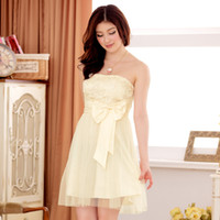 big fence - Big Yards To Increase Women s Summer Hot Korean Version Of Sweet Fence Butterfly Knot At The End Of World Chest Gauze Dress