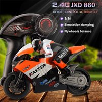 Wholesale USA Stock JXD Electric Toys CH G RC Motocycle Stunt Drift Motor Boys Scale Toys