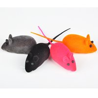 Wholesale Pet Toy Cut Mouse Style Rubber Random Color Cat Toy Utterance Pets Supplier Bite Resistant