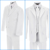 Reference Images Tuxedos Three-piece Suit White Tuxedo for grooms Tuxedos Design For Men 3 piece custom made Men Suits For Wedding Jacket Pant Tie Vest Personalized Tuxedo AE52618