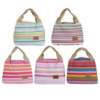 bento box bag - Forward Thermal Insulated Lunch Box Tote Cooler Canvas Zipper Bag Bento Lunch Pouch Hot Insulation bag