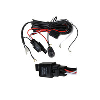 Wholesale Wiring Harness Kit LED HID Light Bar Wire Switch Plainless Relay BELOW W Wiring Harness Auto wiring Light