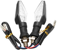 benelli motorcycles - High quality Yellow Light pair of Universal V W LED Motorcycle Turn Signal Indicators Lights lamp Easy to install