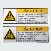 accord manual - 10pcs mm risk of explosion if battery is misused please use according to the manual Adhesive safety label