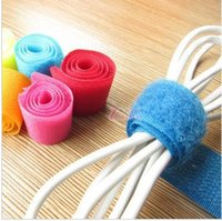 Wholesale Cell Phone Cables Computer Accessories supply creative home computer cable management Binding wire pic