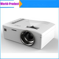 best lcd projectors - Newest UNIC UC18 Mini projector P Video Projector Best gifts for Kids Parents Multi language