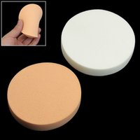 apricot powder - Makeup Foundation Sponge Cosmetic Puff Apricot White Blender Blending Cosmetic Puff Flawless Powder Make Up Tool Powder Puff
